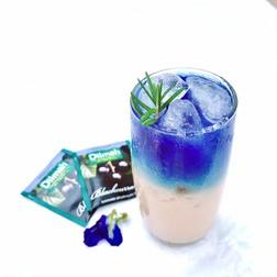 Blackcurrant  Sapphire milky tea