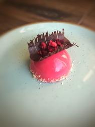 Raspberry Tea Cake