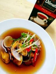 Black Tea Clam Soup