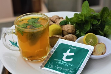 Minty Turmeric tea