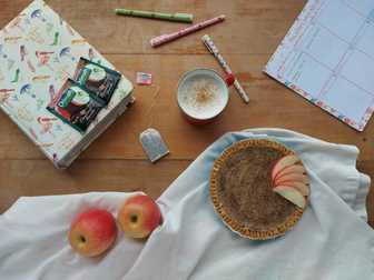 Tea and Cashew Pie